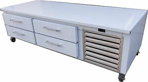 Coolman Chef Base Equipment Stand Refrigerator 72 Four Drawers