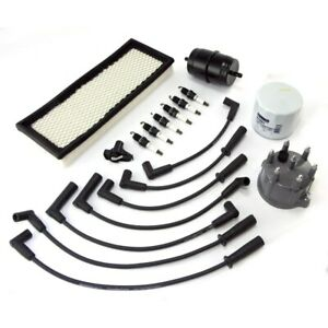 Engine Ignition Tune Up Kit For Jeep Wrangler 1994 1995 4 0l 17256 03 Omix Ada