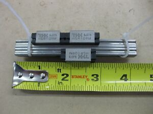 Lot Pair Thk Linear Guide Lm Rail 3 Hsr10rm Carriages Bearing Blocks 4 100mm