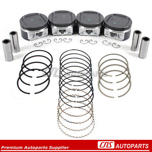 Pistons High Performance Rings Fits 02 05 Ej205 Ej20 Subaru Impreza Wrx Turbo