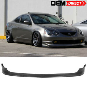 For 02 04 Acura Rsx Dc5 As Urethane Front Bumper Lip Spoiler Pu Bodykit