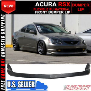 For 02 04 Acura Rsx Dc5 As Front Bumper Lip Spoiler Pu Bodykit Pu