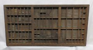 Vintage Letter Press Type Trays Organizer Miniatures Jewelry Collection 2918 14