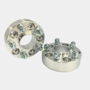 2pc 2 0 Thick Wheel Spacers With Lip 5x115 Hubcentric 70 3 Hub 12x1 5 Stud