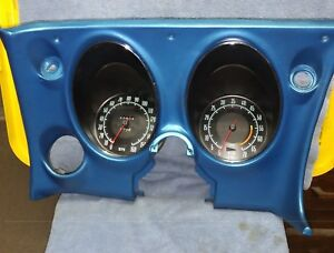 Corvette Dash Assembly Complete 1968 Only