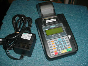 Hypercom T7plus Credit Card Machine 1mg P n 010218 046 Zg Power Supply T7p