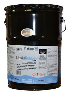 Liquid rubber liquid Epdm Coating 5 Gallon for Roof Leaks Repair Sealing