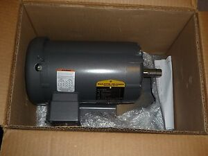 Baldor Electric Ac Motor M3608 2 Hp 3450 Rpm 230 460v 184 60hz Base Mount