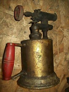 Vintage Acetylene Torch Hand Held Antique Service Gas Station