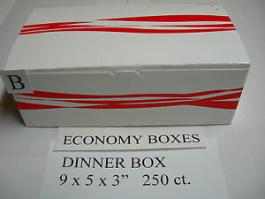 For Your Broaster Pressure Fryer Economy Dinner Chicken Box 250ct Or Henny Penny