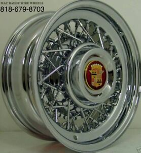Cadillac Wire Wheels All Yrs Rear Wheel Drive Only Us Hand Made Independent