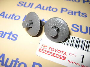 Toyota Pickup Truck 4runner Interior Door Panel Insert Clips 1989 1995 Gray