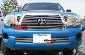 Fits 2005 2010 Toyota Tacoma Main Upper Billet Grille Insert