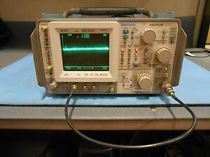 Tektronix 492pgm Programmable Spectrum Analyzer