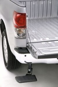 Amp Research Bedstep Bumper Step 2007 2013 Toyota Tundra Pickup Truck