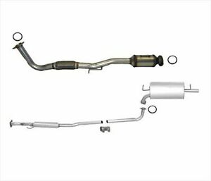 97 01 Camry 2 2 Converter Muffler Pipe Exhaust System With Federal Emission Only