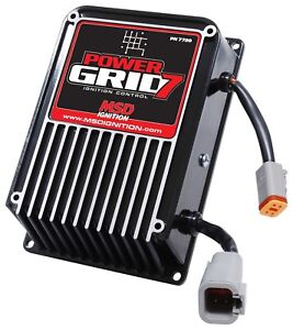 Msd Ignition 7720 Power Grid 7 Race Ignition Box Use W Power Grid Controller