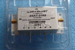 New Mini circuits Zsat 31r5 Digital Step Attentuator Ttl Control Pin Diode