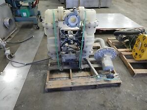 Warren Rupp Sandpiper Diaphragm Pump 3 100 Psi Model s30b2p1pqas000