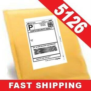 2 000 Half sheet Internet Shipping Labels For Ebay usps