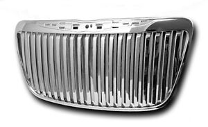 Fits 2011 2014 Chrysler 300 Chrome Vertical Bar Grille Grill Bently