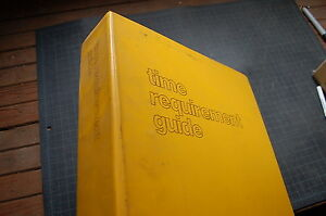 Cat Caterpillar 3208 3406 Trg Engine Time Requirement Guide Manual Book Catalog