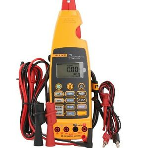 Fluke 773 Digital Milliamp Process Clamp Meter Tester With Soft Bag