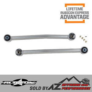 Rubicon Express Front Adjustable Lower Super Flex Control Arms 07 18 Jeep Jk Jku