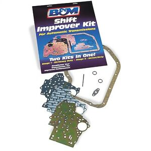 B M 20260 Shift Improver Shift Kit 1965 1987 Th400 Th375 Turbo 400