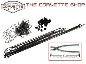 C3 Corvette Seat Cover Install Kit With Hog Ring Pliers 1968 1969 X2086 4904