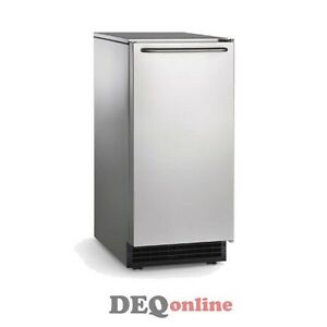 Scotsman Cu50ga 1a Undercounter Ice Maker W Bin 50 Lbs A Day Gourmet Ice