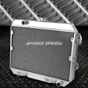 For 75 78 Nissan Datsun 280 Z Fairlady 3 Row Full Aluminum Core Cooling Radiator