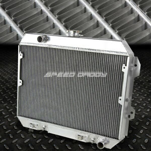 For 75 78 Nissan Datsun 280 Z Fairlady Aluminum Three Row Core Cooling Radiator