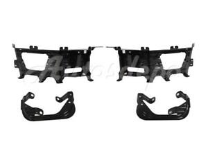 For 2009 2012 Dodge Ram 1500 Front Steel Bumper Bracket Kit Fog Lamp Bracket Set