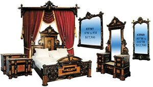 Victorian Bedroom Suite By Herter Brothers Ebonized 2704