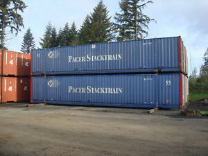 Used Pacer Stacktrain 53 High Cube Steel Shipping Containers Seattle Wa