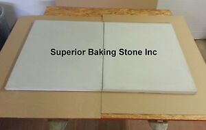 Set Of 2 Superior Baking Stones Will Fit Bakers Pride Ep8 3836 Pizza Oven