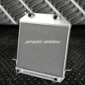 For 39 41 Ford 39 40 Mercury V8 Flathead Flatty Engine 3 Row Aluminum Radiator