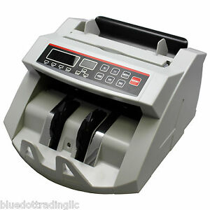 New Money Bill Cash Counter Bank Machine Count Currency Counting Uv Counterfeit