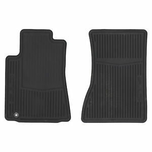 Oem New Front All Weather Rubber Floor Mats W Cts Logo 08 14 Cadillac 22784768
