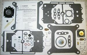 Ford Lincoln Mercury Motorcraft Autolite 4100 Shoebox Carburetor Kit 289 390 427