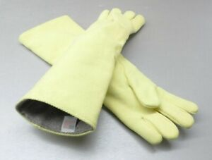 High Temperature Gloves Kevlar Heat Resistant Furnace Gloves Smelting Pair 23 L