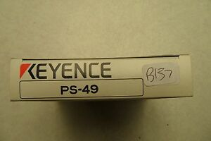 New Fiber Optic Sensor Keyence Ps 49