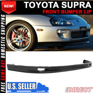 For 93 98 Toyota Supra Front Bumper Lip Magic Whifbitz Aero Style Pu