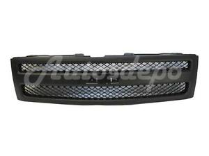 For 2007 2013 Silverado 1500 Pickup Grille Textured Black Grille And Shell