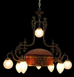 French Chandelier Rococo Revival 7654