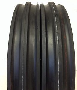 Two Front Tractor 400x12 400 12 4 00 12 Front 3 Rib Tractor Tires With Tubes