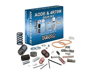 Transgo Ford Aode 4r70w Transmission Shift Kit 1991 2008 91 08 Skaode Sk Aode
