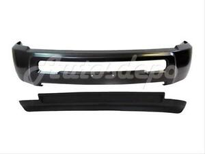 For Dodge Ram 2500 3500 4wd 2010 2012 Front Bumper Bar Gray Air Dam W o Fog Hole