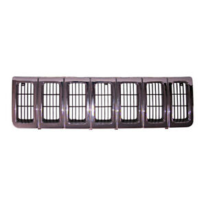 Grille Chrome Fits Jeep Grand Cherokee 1996 1998 12037 14 Omix Ada